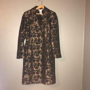 George Jacket Size 8 Lined Color Pink Black